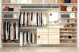 medium size of elfa closet system installation instructions design ideas birch reach in bathrooms astounding d