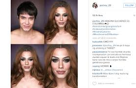 look paolo ballesteros transforms into miss colombia ariadna guchenez transforming