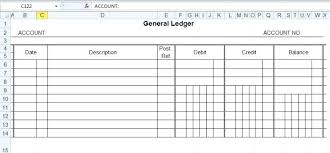 Account Ledger Printable Accounting Ledger Template Download Printable General Free