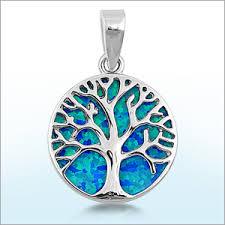 00 lab created opal pendant