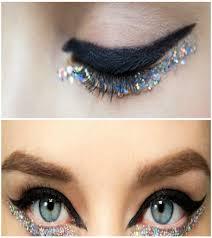 diy chanel inspired glitter eye tutorial