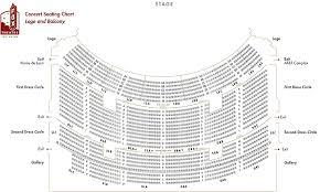 fox theatre seating chart atlanta