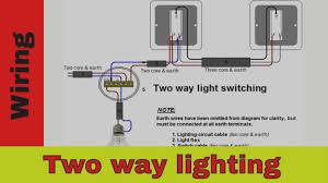 Two Way Light Switch Wiring Diagram Uk Wrg 5624 2 Way Lighting Circuit Wiring Diagram Uk