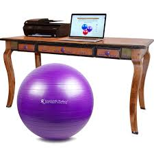 5 great reasons to replace your office chair with a yoga ball