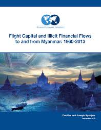 Financial Report Cover Page Cover Page Image Flight Capital Illicit Financial Flows Myanmar 1960