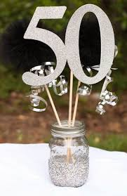 homemade 50th birthday party favors pretty anniversary party 40th 50th 60th birthday centerpiece of 74 lovely