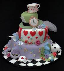 Mad Hatter Cake Designs Alice In Mad Hatter Cakes Classic Style Easy Mad Hatter