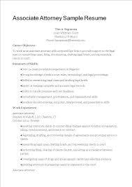 Free Associate Attorney Resume Templates At Allbusinesstemplates Com
