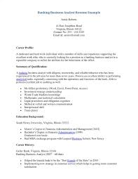 Banking Business Analyst Resume Sample Banking Business Analyst Resume Topresume Business 22