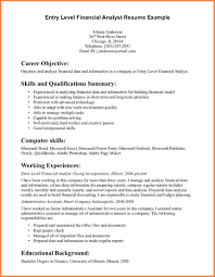 7 Sample Computer Science Resume Entry Level Resume Cover Note