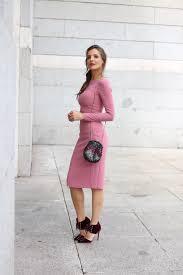 Cosmopolitan awards looks specials Lady Addict. Light pink midi.