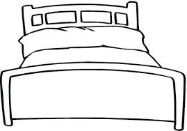 Bed Coloring Page Pillow Coloring Page Bed Coloring Trend Medium