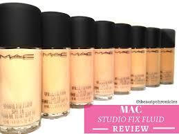 Beauty Chronicles Mac Studio Fix Fluid Spf 15 Review