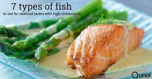 Cholesterol In Seafood Chart Seven Types Of Fish To Eat For Seafood Lovers With High
