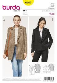 Womens Blazer Pattern