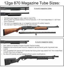 Remington 870 Choke Tube Chart Mossberg 500 590 590a1 Vs Remington 870 Express Police
