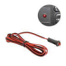Red Security Light On Dashboard Red Led 12v Flashing Dummy Alarm Warning Light Stagemotorsport