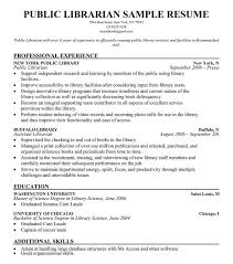 Public Administrator Sample Resume Amazing Public Librarian Resume Sample Resumecompanion Resume