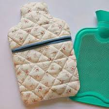 Stitch a cosy hot water bottle cover for chilly winter eves ... & Quilted hot water bottle cover tutorial on the blog now! Adamdwight.com