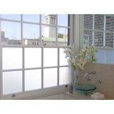 white frosted privacy window