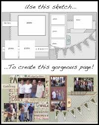4 Scrapbooking Templates To Help You Scrap More In Less Time