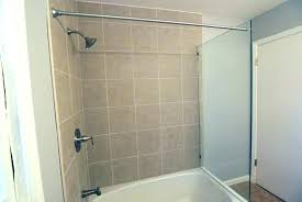 tub shower wall panels gallery doors with glass panel and curtain rod granite sacramento p