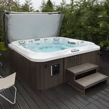 above ground jacuzzi. Fine Ground Aboveground Hot Tub  Square 6person Outdoor And Above Ground Jacuzzi O