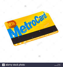 Mta Metrocard Design New York Mta Metrocard Subway Ticket Isolated On A White