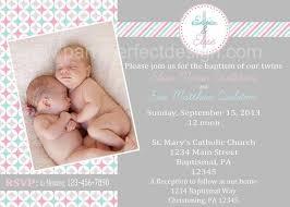 Twin Baptism Invitations Twin Baptism Invitations 32 Best Baptism Ideas Images On Pinterest