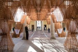 Cos Design Week Cos And Mamou Mani Mix Nature And Technology At Palazzo