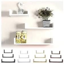 floating shelves set floating shelves set of 3 u shape wall mount storage shelf home decor floating shelves set