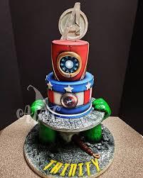 Avengers Birthday Cake Ideas Popsugar Family