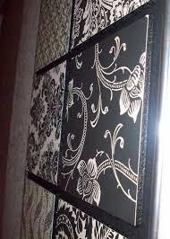diy paisley wall art