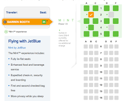 Jetblue Mint Seat Map Frequently Flying