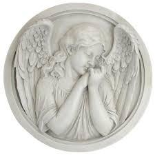 angel sculpture wall decor