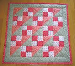 Not crazy about the color, but like the block assembly | Quilting ... & Explore Pink Quilts, Lap Quilts, and more! Adamdwight.com