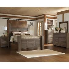 Concept Bedroom Furniture Sets Driftwood Rustic Modern 6 Piece Queen Set Intended Decor