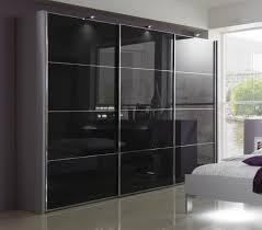 Florida by Stylform - White-Black-Grey Glass/Mirrored Wardrobe