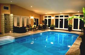 Indoor Pool Part In Swimming Pool With Private Area