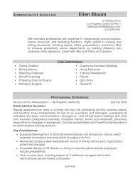 Office Assistant Sample Resume Resume Peppapp
