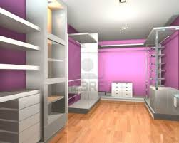 empty walk in closet. 12203444-empty-interior-modern-room-for-walk-in-closet -with-shelves-and-pink-wall.jpg Empty Walk In Closet
