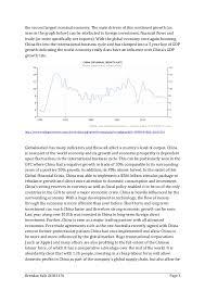 globalisation essay 3