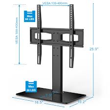 Flat Screen Tv Console Fitueyes Universal Tv Stand Base Tabletop Tv Stand With Mount Up