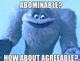 Waffle's Cryptid Database: The Abominable Snowman, the Alpha Yeti ... via Relatably.com