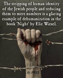 examples of dehumanization in night by elie wiesel