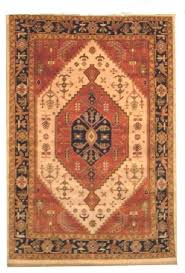 india varanasi hand knotted rug 8 9 x 6 0