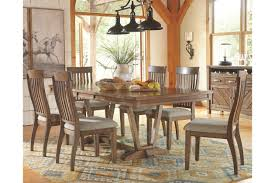 colestad 7 piece dining room ashley furniture home 700