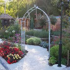 Small Picture Metal Garden Arches And Pergolas Outdoor Goods