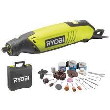 ryobi multi tool. box multifunction tools ryobi 150w - 115 accessories flexible shaft telescopic support eht150v ryobi multi tool u