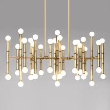 meurice rectangle chandelier alt image 2